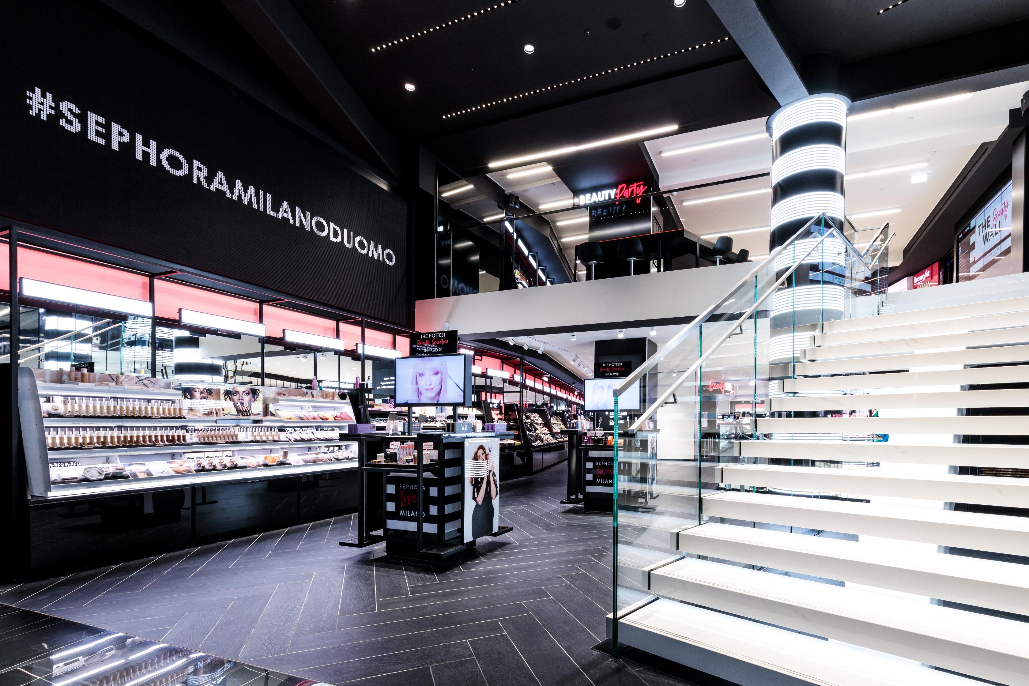 Nuovo Flagship Store Sephora Milano Duomo - Piano terra