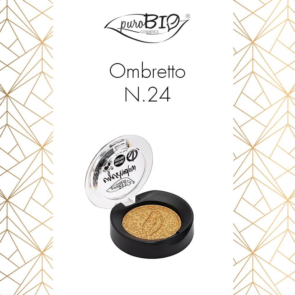 Purobio Luxus Collezione trucco make-up autunno 2018 - Info, recensione, review, opinioni, swatch, prezzo, dove acquistare - Ombretto 24