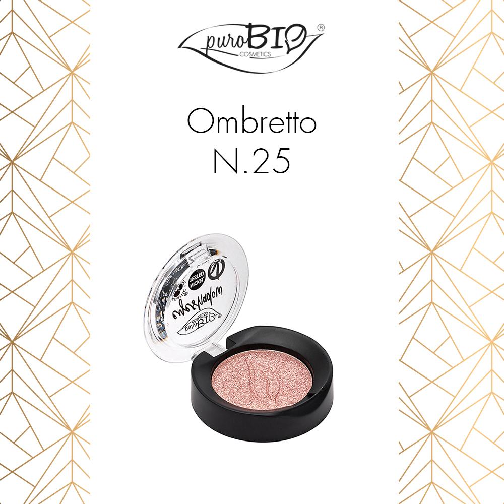 Purobio Luxus Collezione trucco make-up autunno 2018 - Info, recensione, review, opinioni, swatch, prezzo, dove acquistare - Ombretto 25