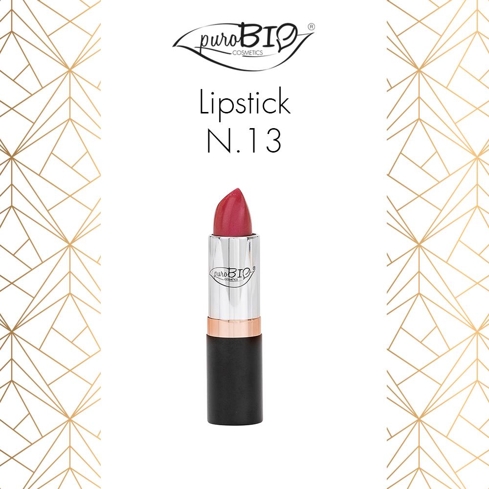 Purobio Luxus Collezione trucco make-up autunno 2018 - Info, recensione, review, opinioni, swatch, prezzo, dove acquistare - Rossetto Lipstick 13
