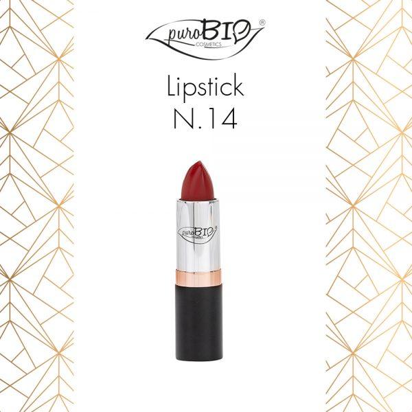 Purobio Luxus Collezione trucco make-up autunno 2018 - Info, recensione, review, opinioni, swatch, prezzo, dove acquistare - Rossetto Lipstick 14