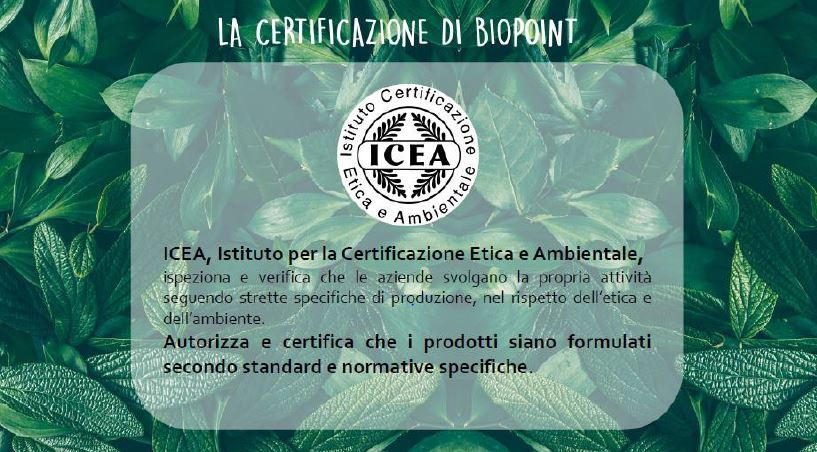 About Beauty Biopoint Biologico ICEA