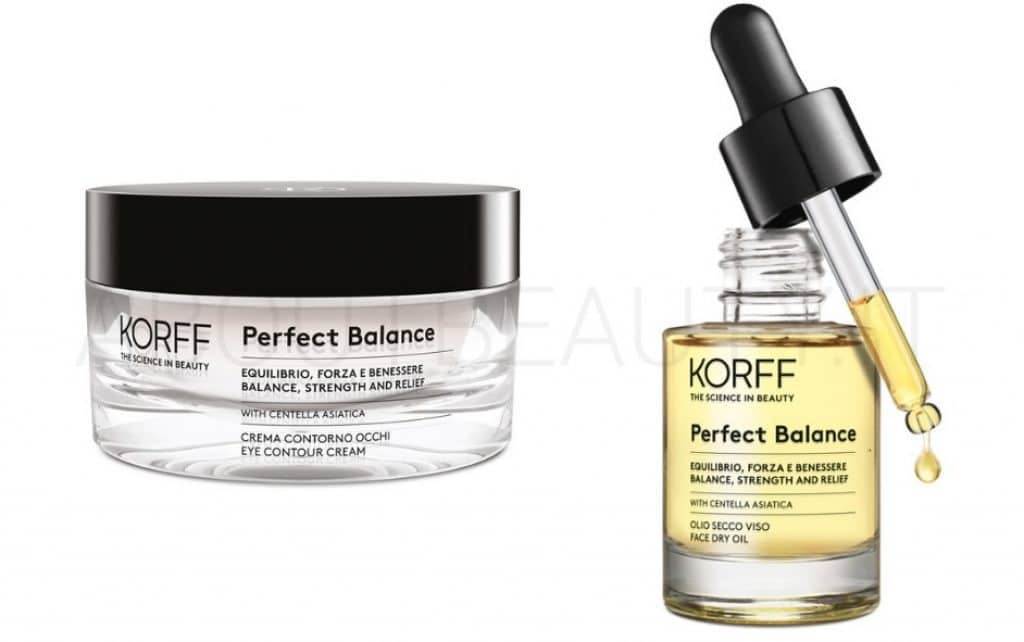 About Beauty Novita autunno 2018 di Korff Perfect Balance Crema Occhi Olio Secco