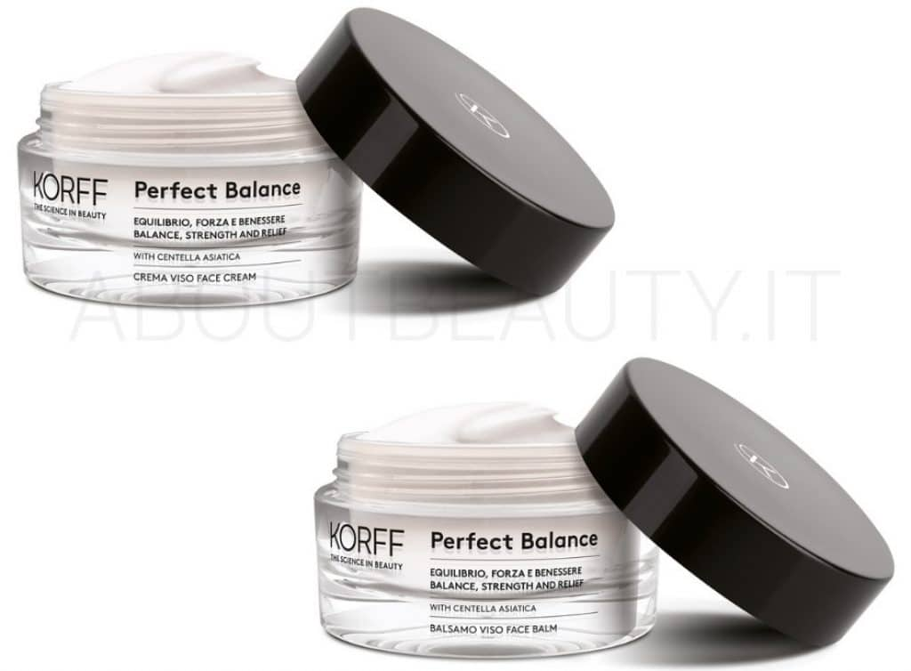 About Beauty Novita autunno 2018 di Korff Perfect Balance Creme Viso