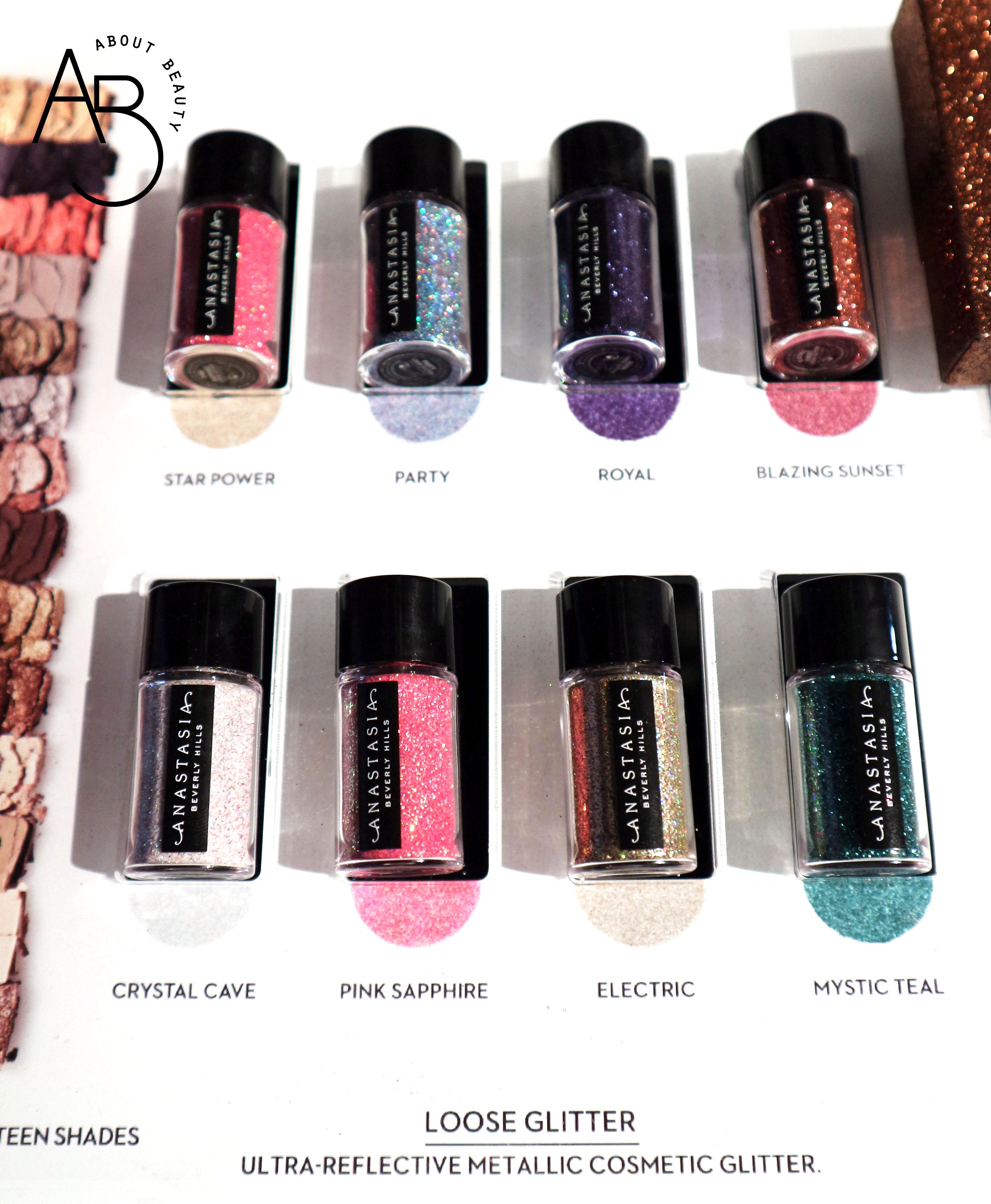 Sephora Natale 2018 Novita da non perdere - Make-up - Anastasia Beverly Hills Loose Glitter - Review, recensione, swatch, info, prezzo, dove acquistare, data di uscita, packaging