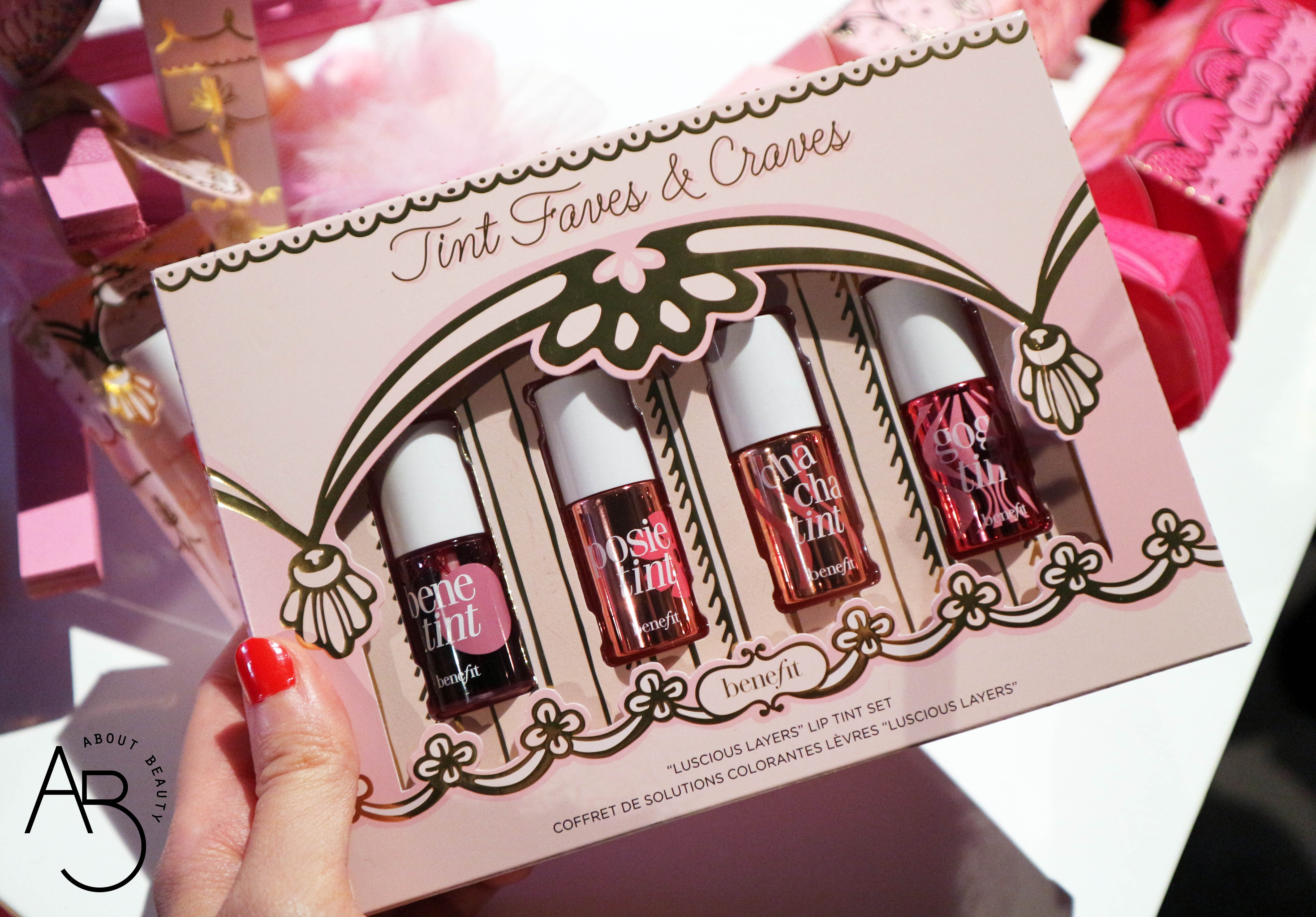 Sephora Natale 2018 Novita da non perdere - Make-up - Benefit Tint Faves and Craves - Review, recensione, swatch, info, prezzo, dove acquistare, data di uscita