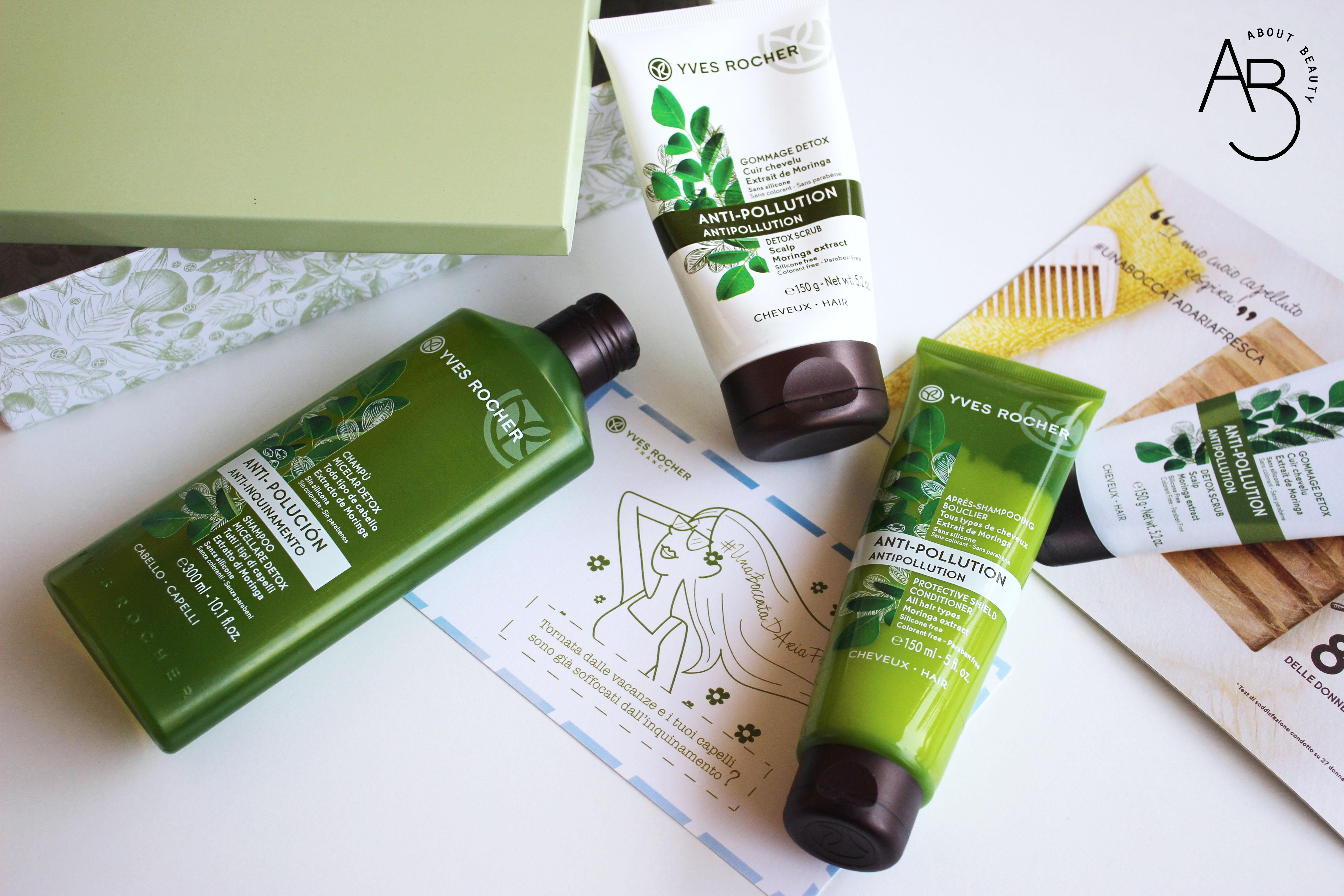 yves rocher trattamenti detox per capelli gommage shampoo micellare balsamo - recensione, info, prezzo, dove acquistare, review