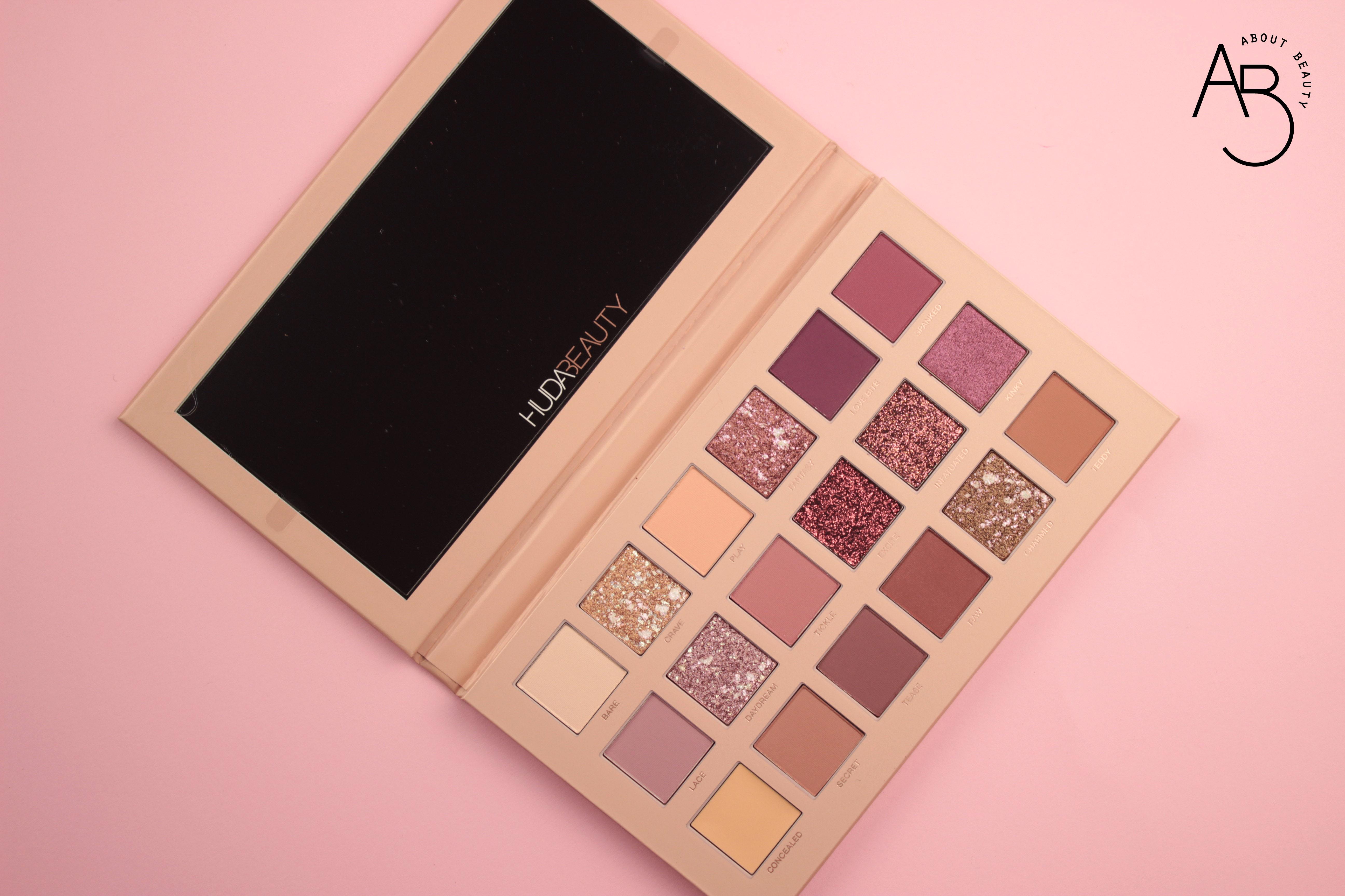 Huda Beauty New Nude Eyeshadow Palette Ombretti - review recensione info prezzo dove acquistare swatch sconto colori