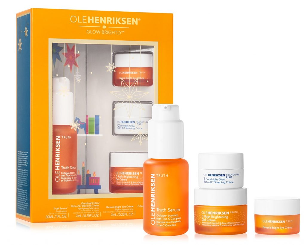 About Beauty Holiday Set 2018 di Ole Henriksen Glow Brigthly