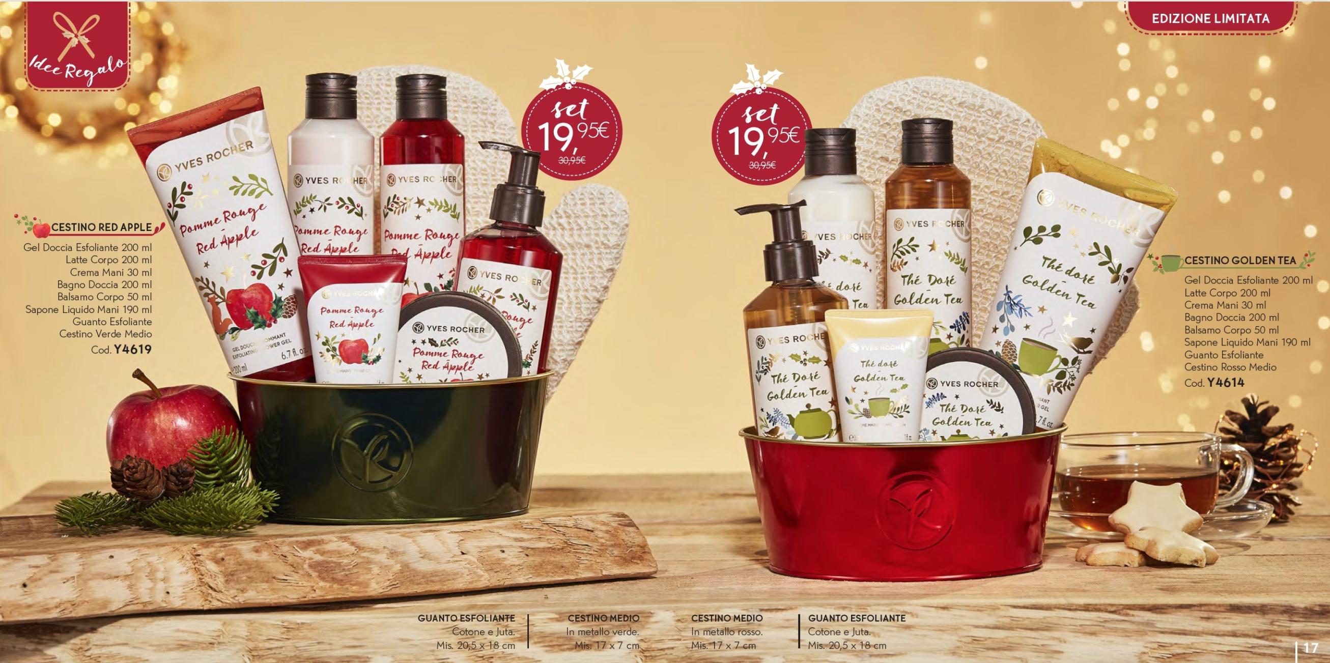 Il Natale Yves Rocher - Idee regalo, cofanetti, info, review, recensione, prezzo, cestini - Cestini 3
