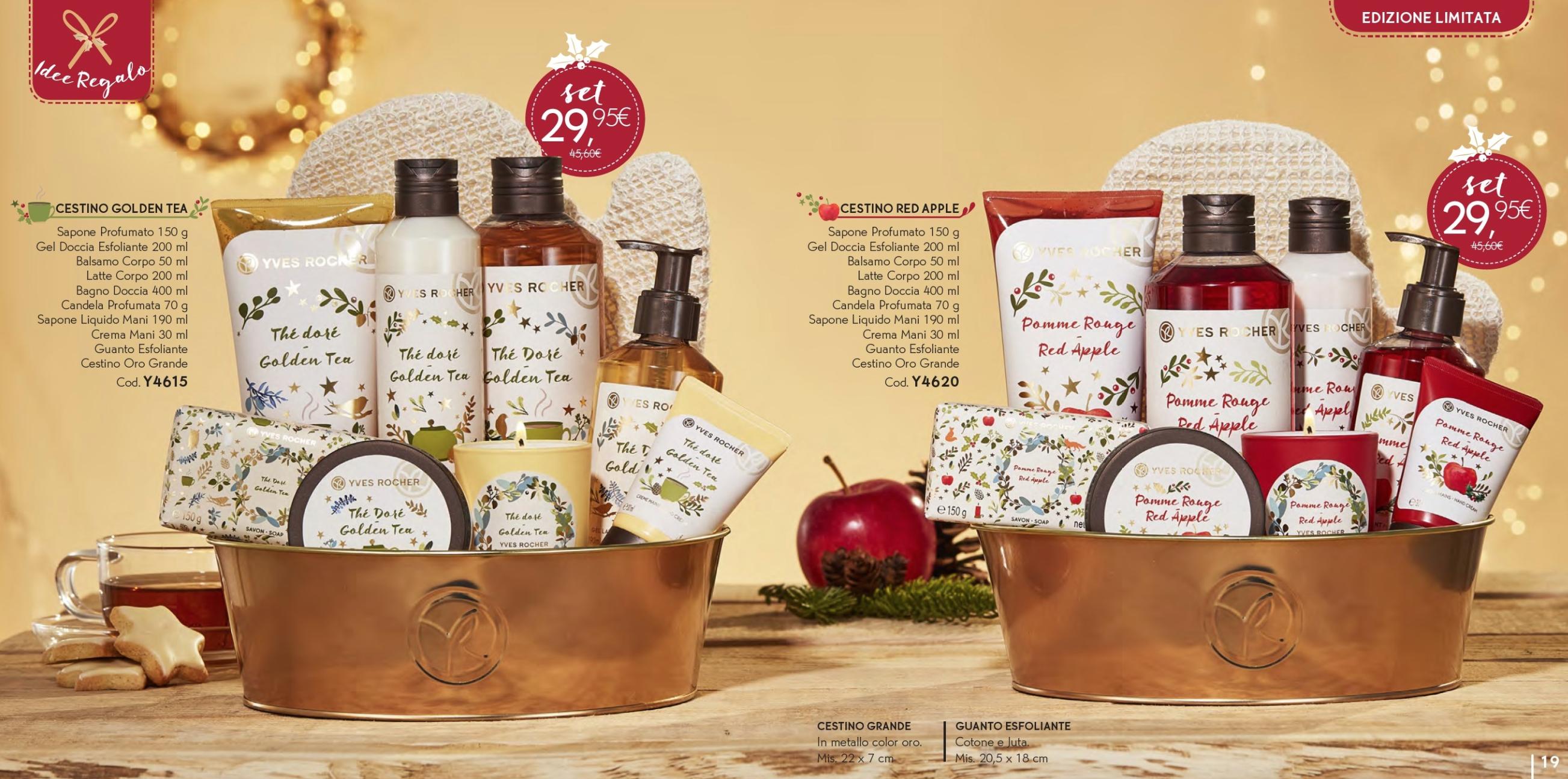 Il Natale Yves Rocher - Idee regalo, cofanetti, info, review, recensione, prezzo, cestini - Cestini 4