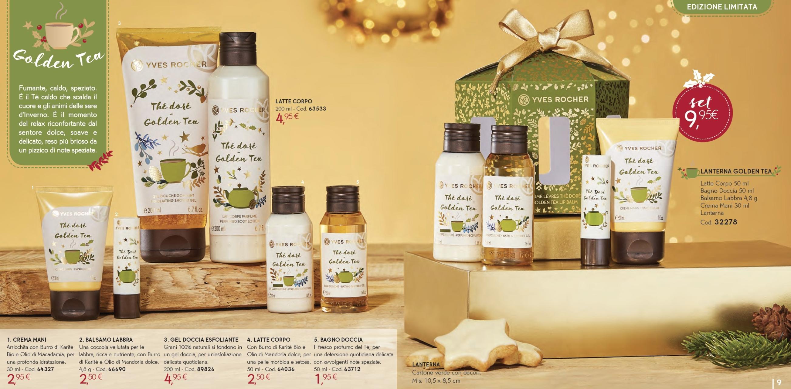 Il Natale Yves Rocher - Idee regalo, cofanetti, info, review, recensione, prezzo, cestini - Golden Tea 1