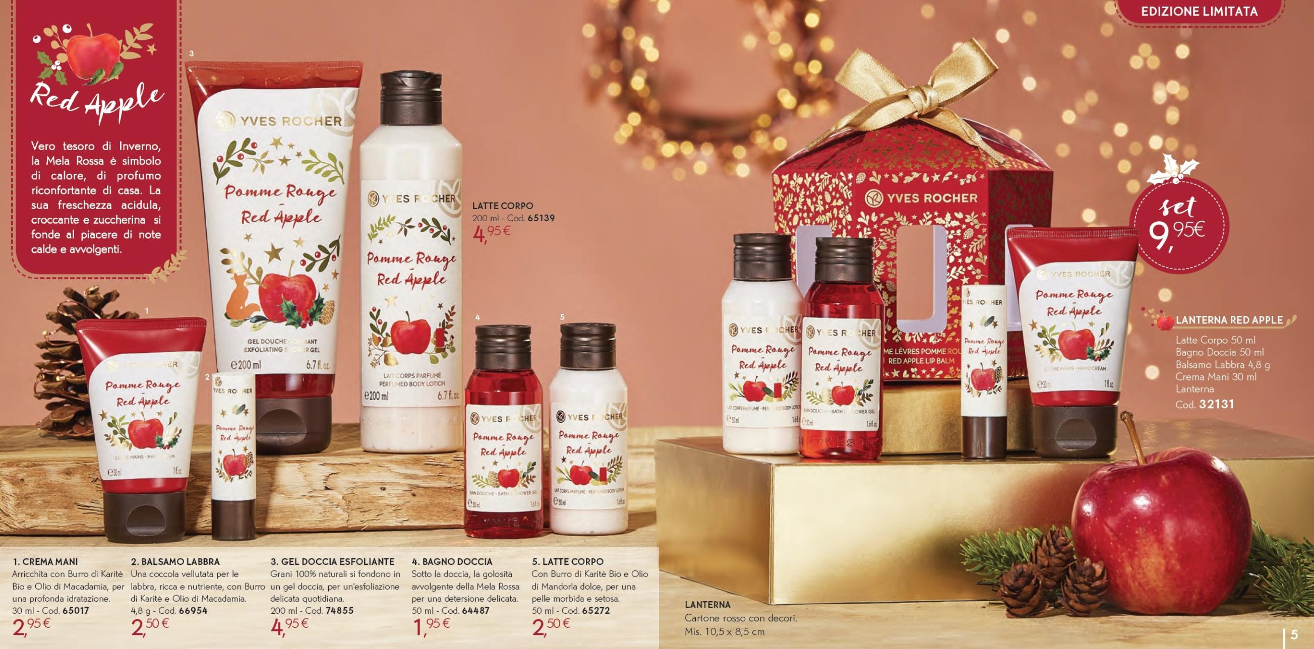 Il Natale Yves Rocher - Idee regalo, cofanetti, info, review, recensione, prezzo, cestini - Red Apple 1