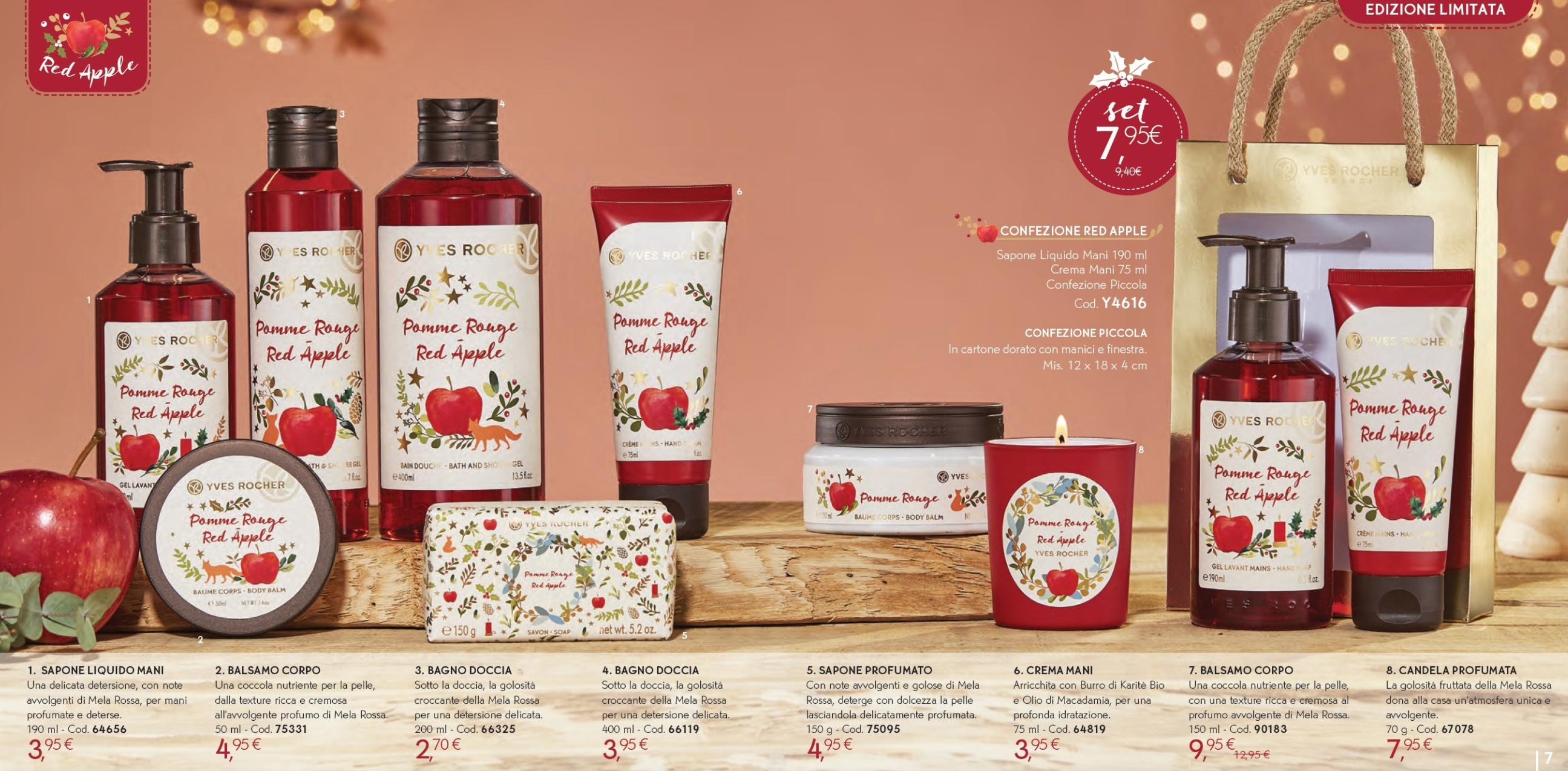 Il Natale Yves Rocher - Idee regalo, cofanetti, info, review, recensione, prezzo, cestini - Red Apple 2