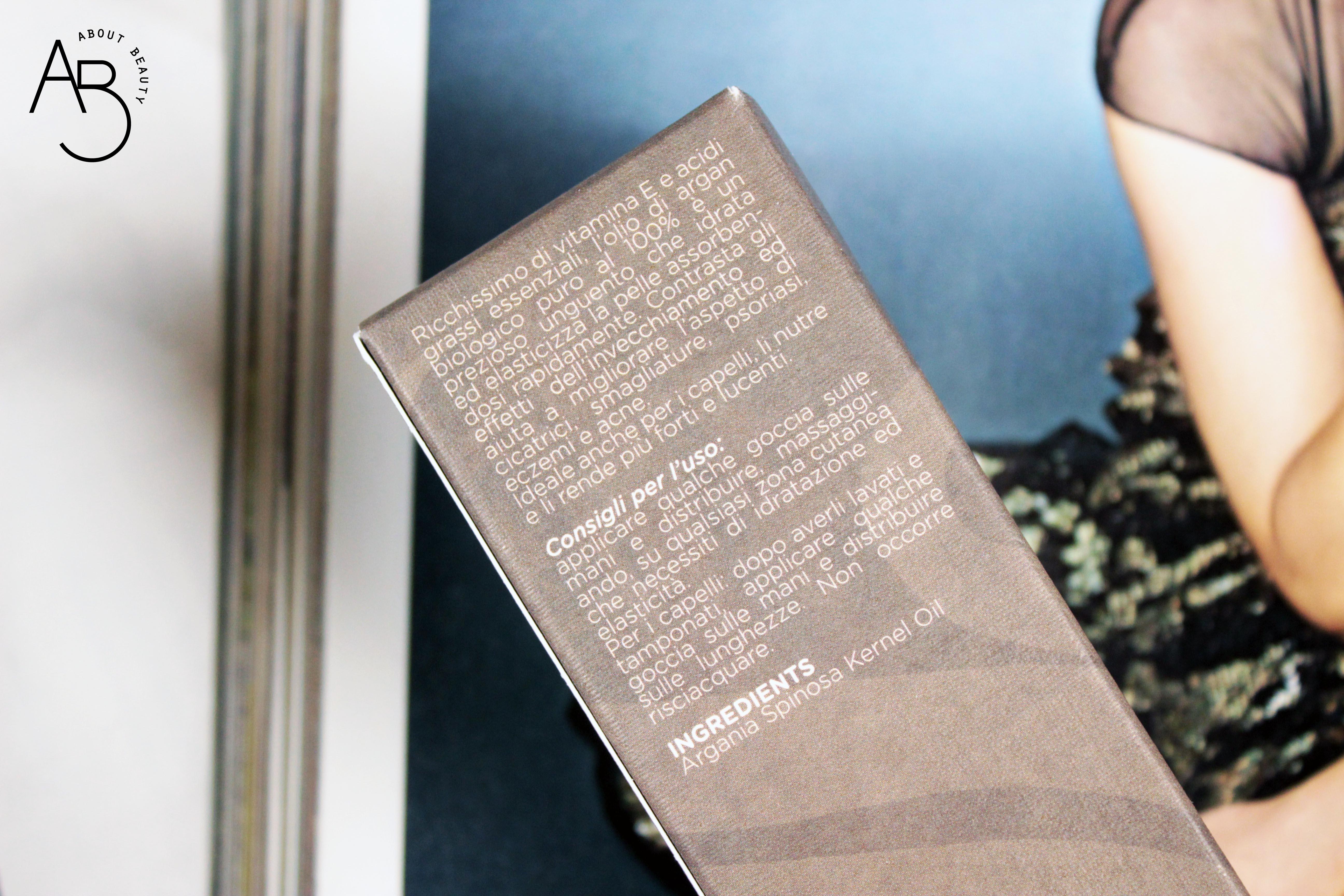 Argasens, olio di argan biologico puro e crema viso alla bava di lumaca - Recensione, info, review, prezzo, dove acquistare, inci