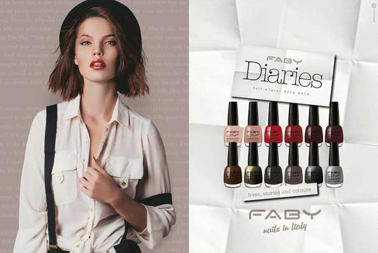 Faby Diaries Collezione smalti unghie autunno inverno 2018-2019 - review, recensione, info, prezzo, swatch - AB