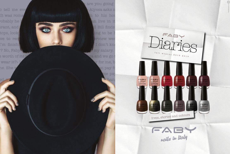 Faby Diaries Collezione smalti unghie autunno inverno 2018-2019 - review, recensione, info, prezzo, swatch