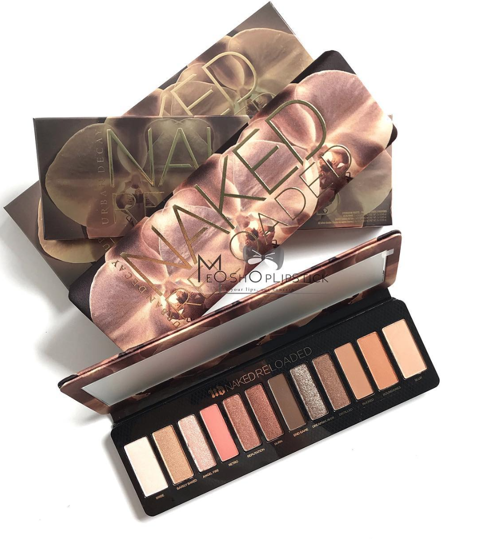 Urban Decay Naked Reloaded Eyeshadow Palette Ombretti - Review, recensione, opinioni, data uscita, dove acquistare, packaging