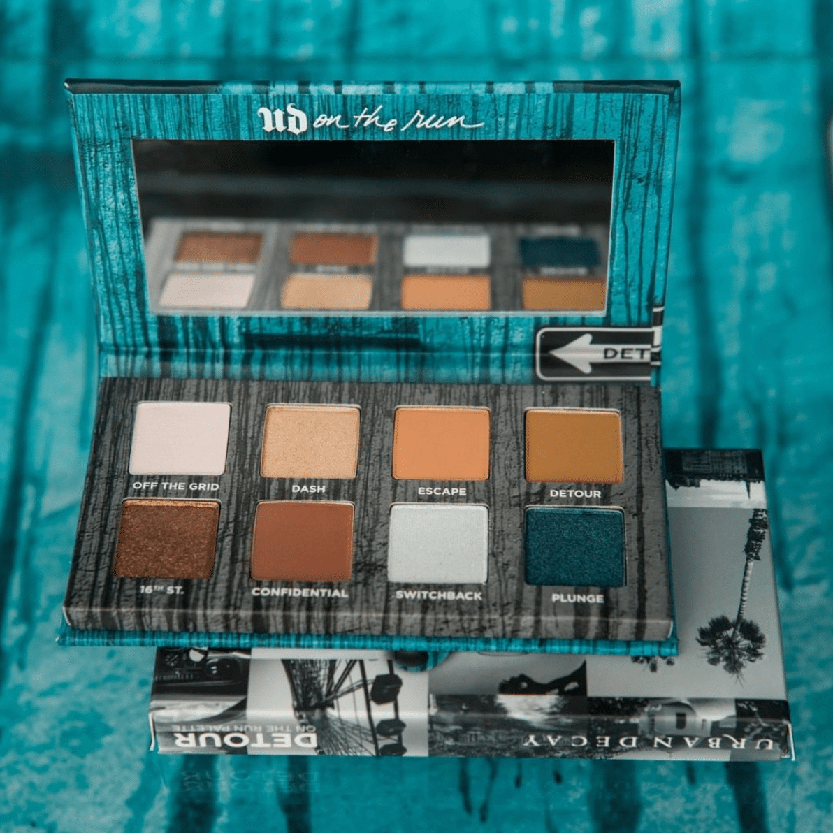 Urban Decay On the Run Collection Detour Eyeshadow Palette Ombretti - Info, prezzo, dove acquistare, data di uscita, review, recensione, opinioni, swatch