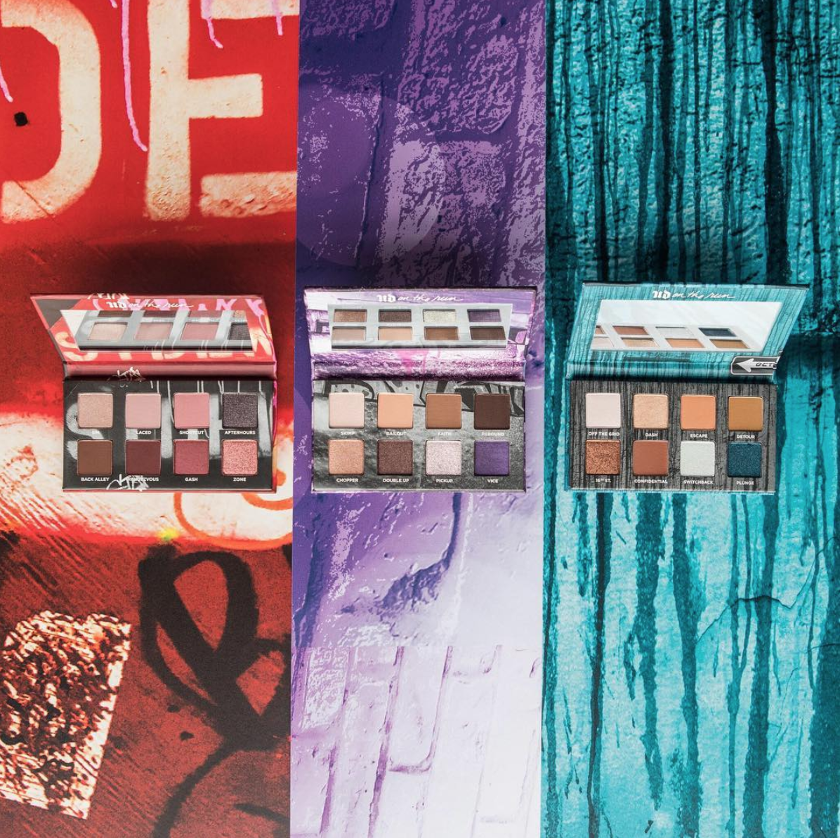 Urban Decay On the Run Collection Eyeshadow Palette Ombretti - Info, prezzo, dove acquistare, data di uscita, review, recensione, opinioni, swatch