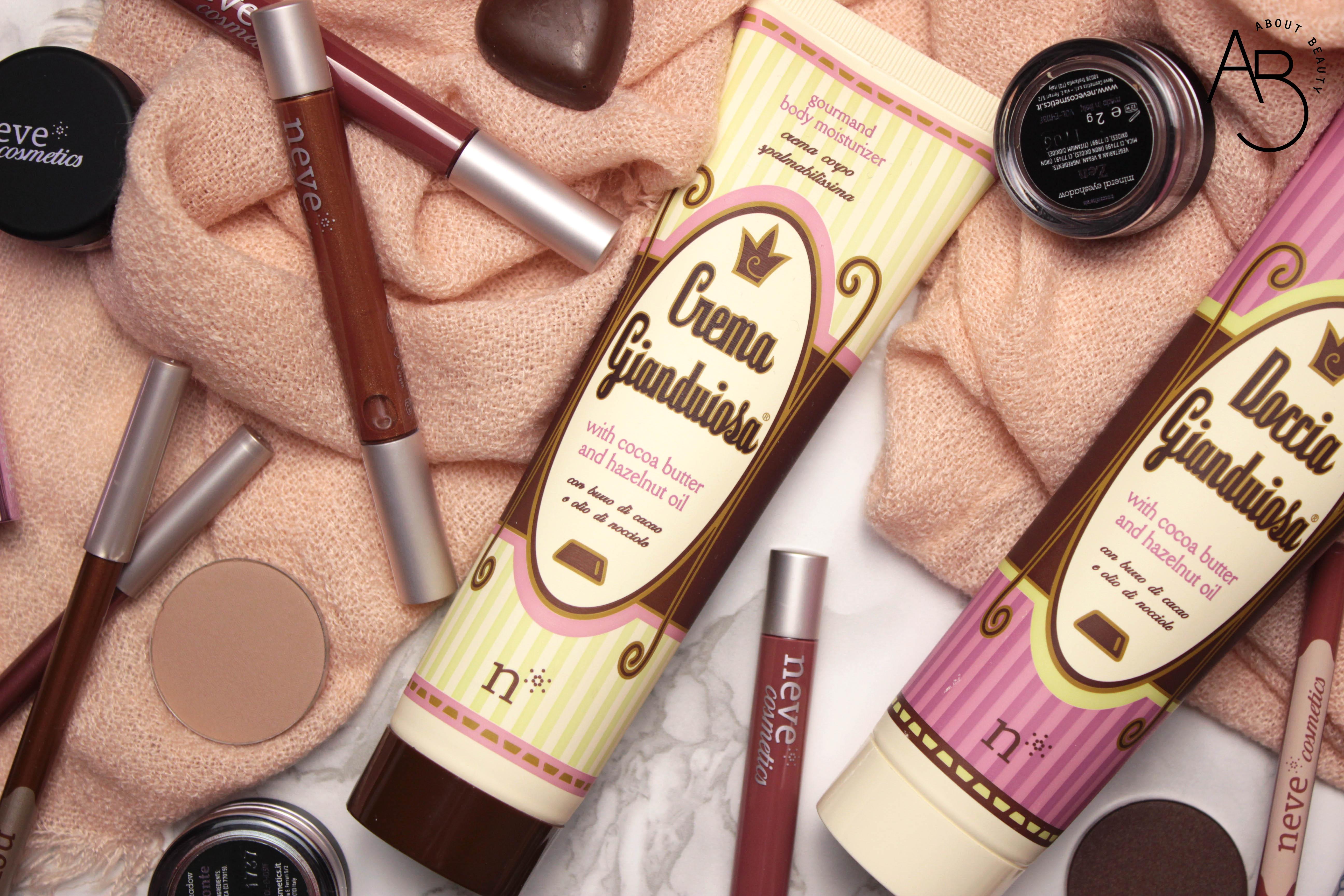 Doccia gianduiosa Neve Cosmetics - Review, recensione, info, prezzo, dove acquistare - Chocolate Valentine Promo - Crema Gianduiosa