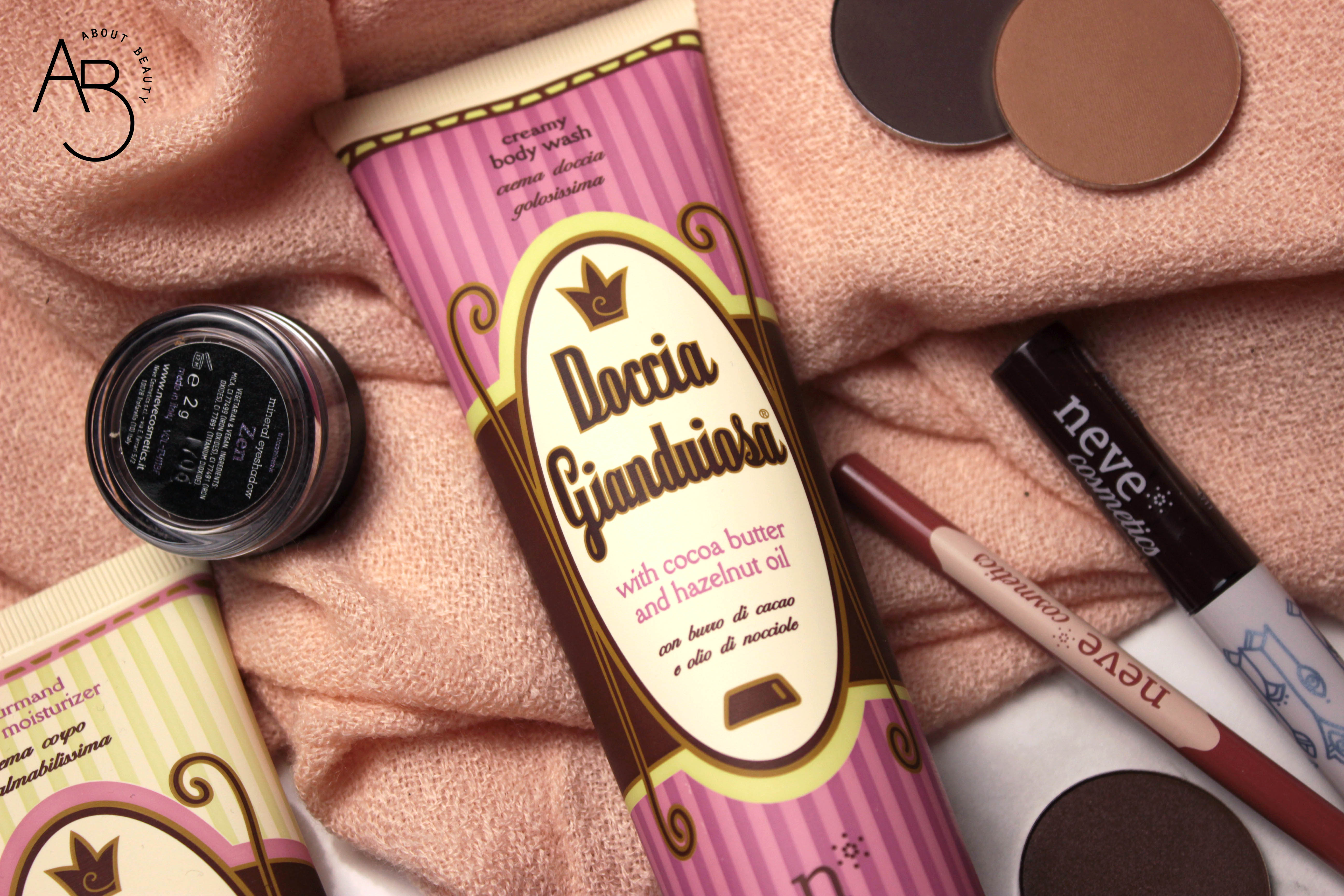 Doccia gianduiosa Neve Cosmetics - Review, recensione, info, prezzo, dove acquistare - Chocolate Valentine Promo