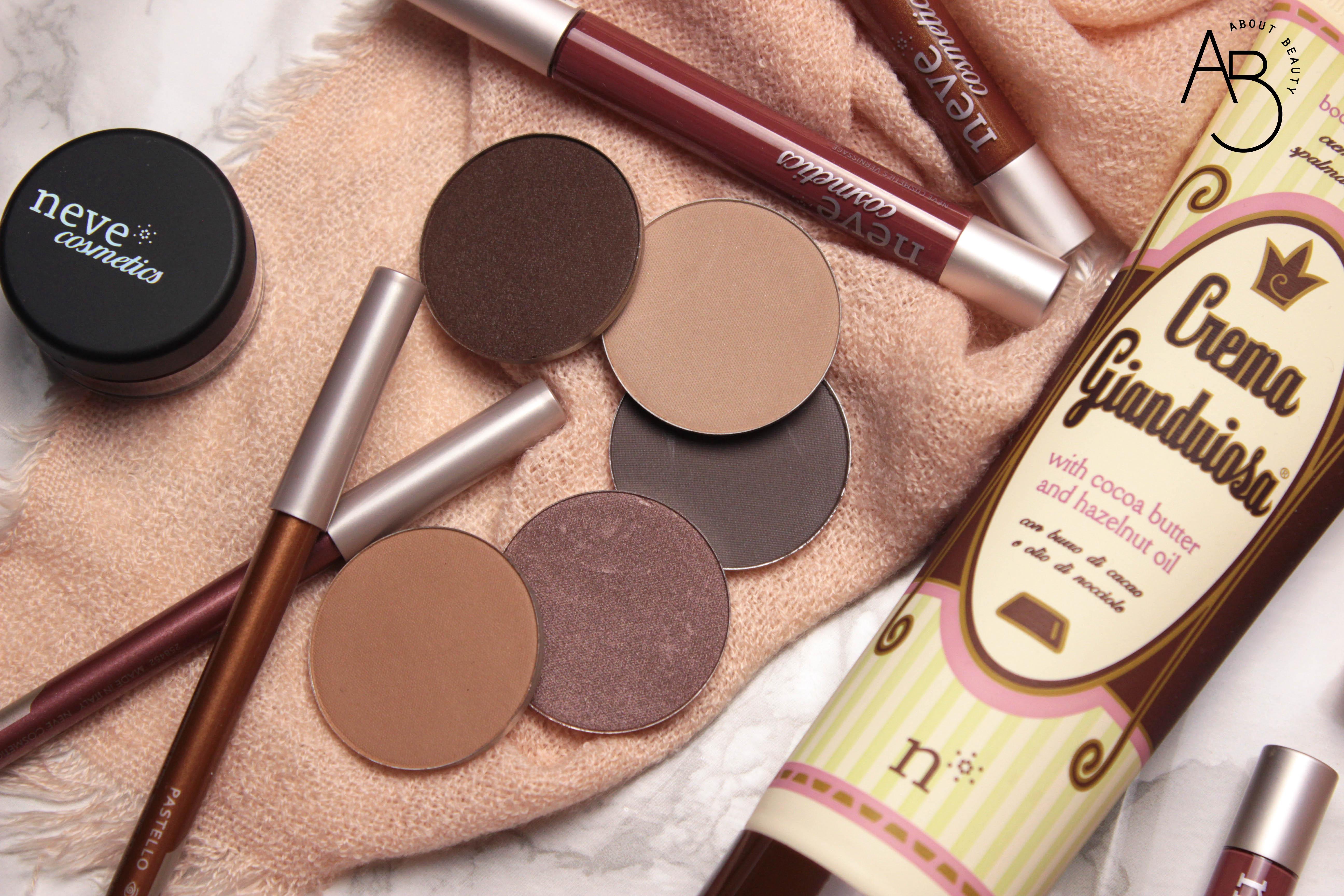 Doccia gianduiosa Neve Cosmetics - Review, recensione, info, prezzo, dove acquistare - Chocolate Valentine Promo - Ombretti in cialda