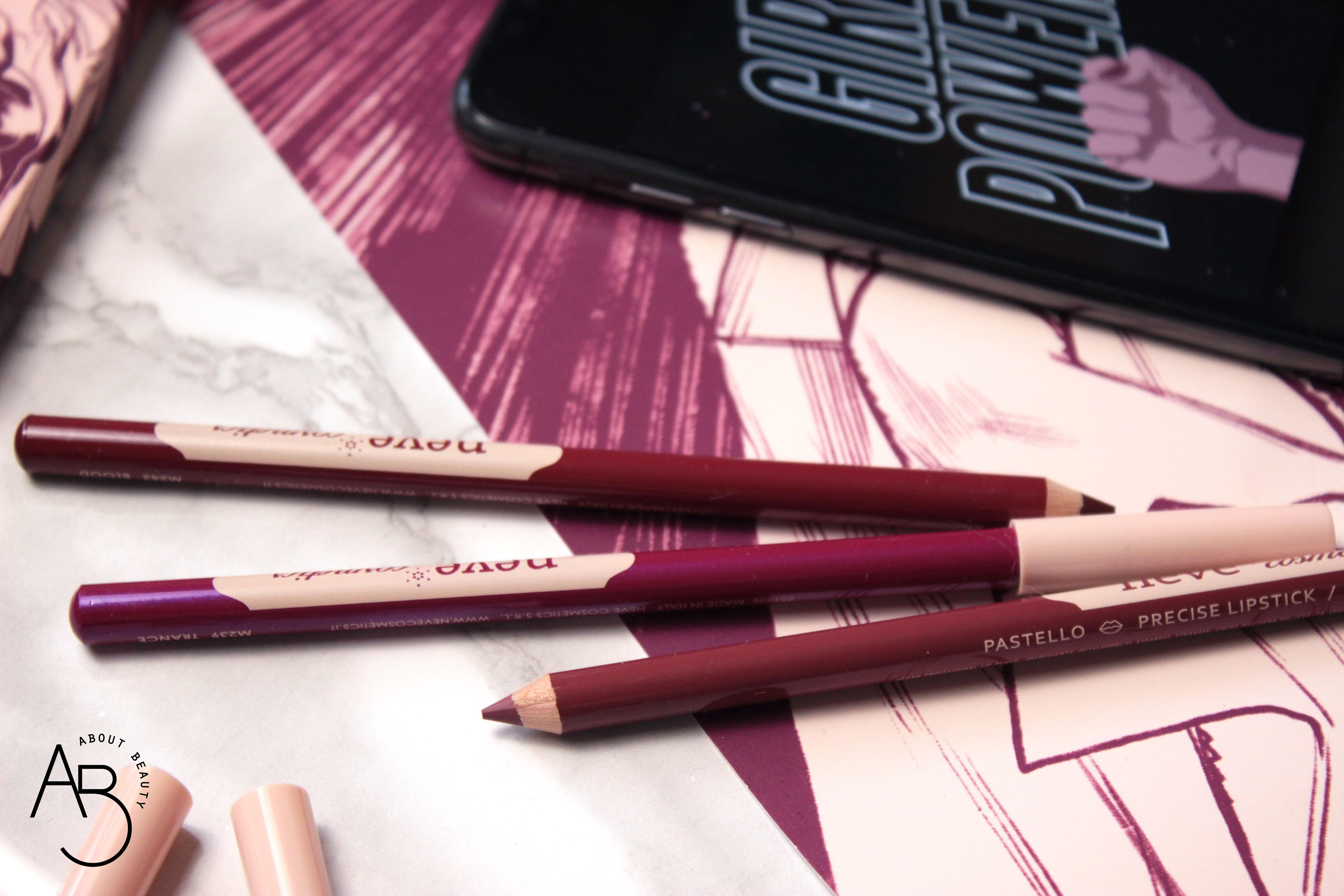 Neve Cosmetics Superheroine Collection - Matite pastello labbra lipliner - Info, review, recensione, prezzo, swatch, dove acquistare - Detail 4
