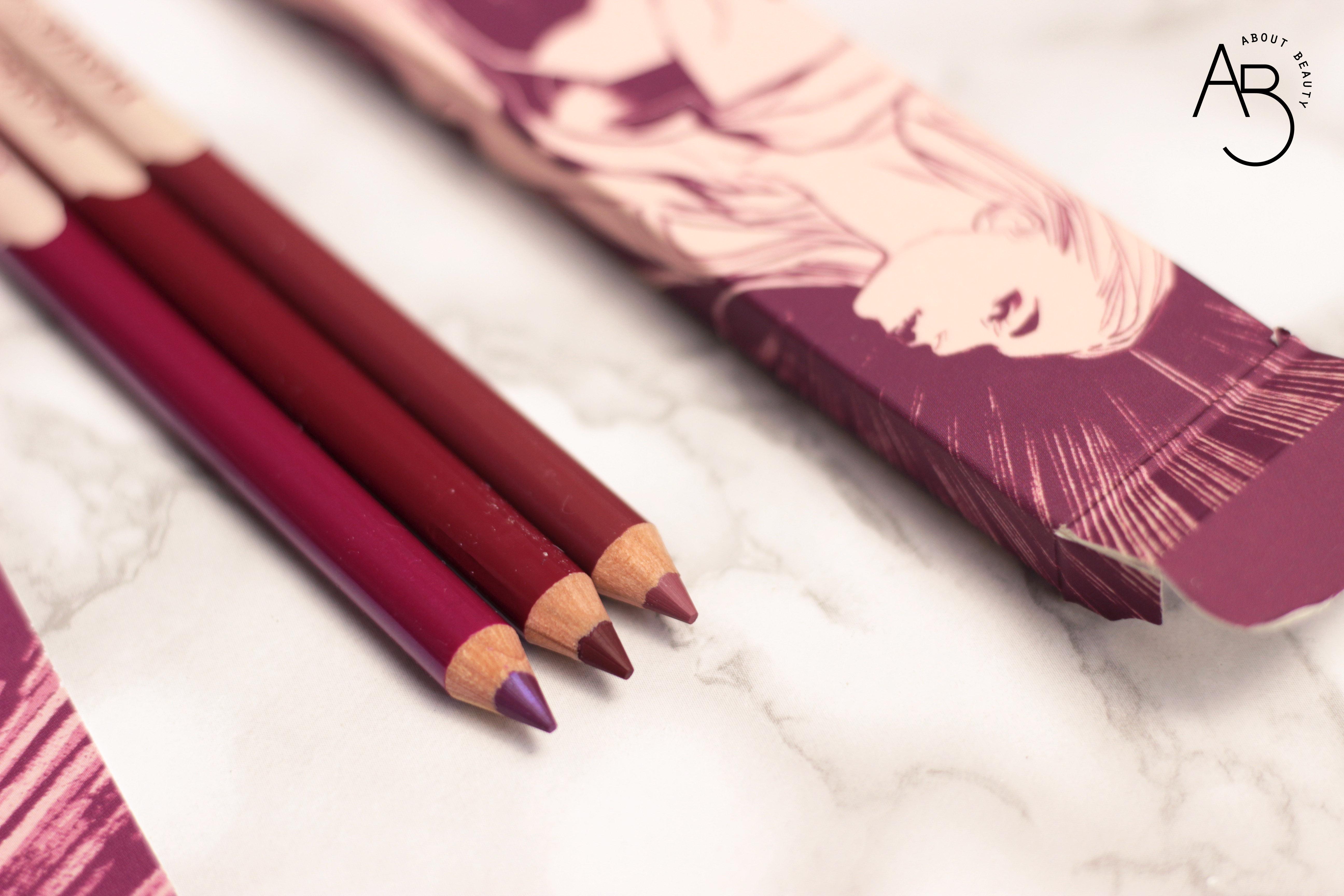 Neve Cosmetics Superheroine Collection - Matite pastello labbra lipliner - Info, review, recensione, prezzo, swatch, dove acquistare - Detail