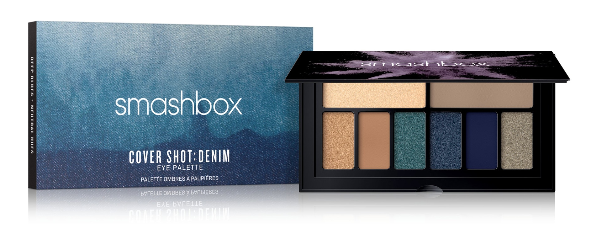 Smashbox Cover Shot Palette Eye Desert e Denim - Info review recensione prezzo dove acquistare swatches colori - About Beauty
