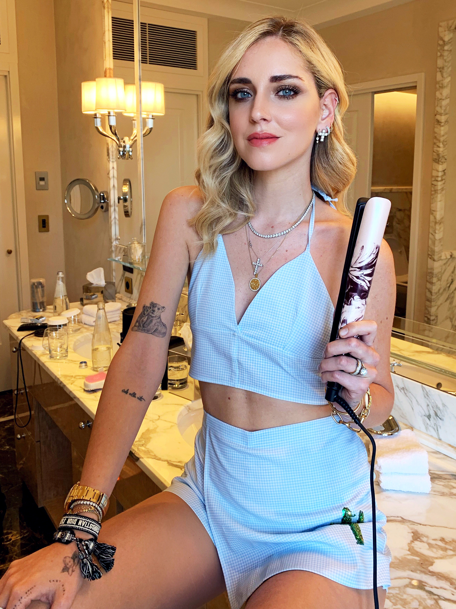 Ghd Ink on Pink Collection collaborazione Chiara Ferragni - About Beauty