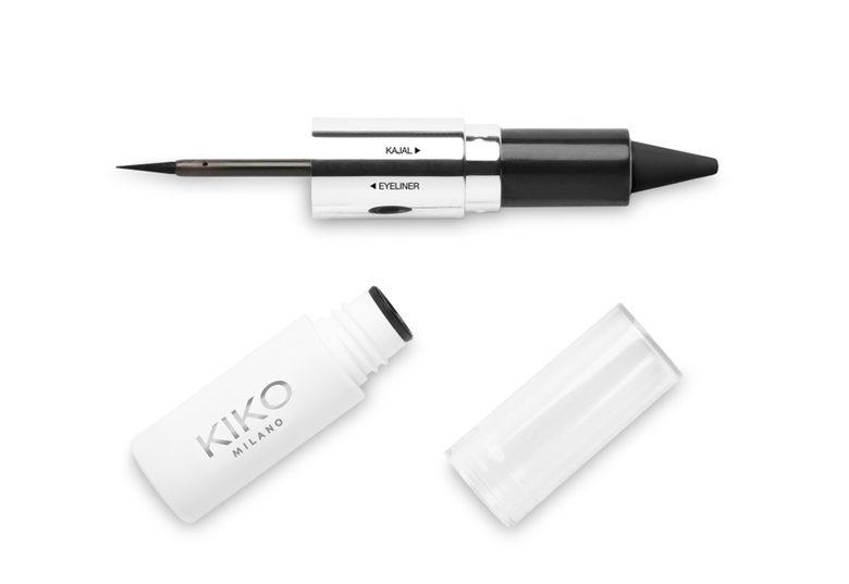 Kiko Pop Revolution - info review recensione prezzo swatch opinioni - Eyeliner Kajal Duo