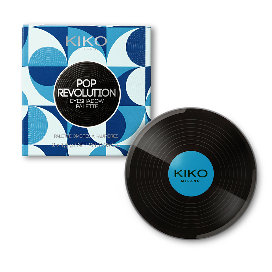 Kiko Pop Revolution - info review recensione prezzo swatch opinioni - Eyeshadow palette