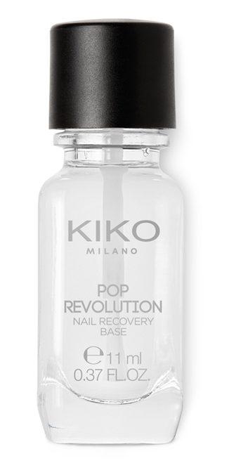 Kiko Pop Revolution - info review recensione prezzo swatch opinioni - Nail recovery base smalto