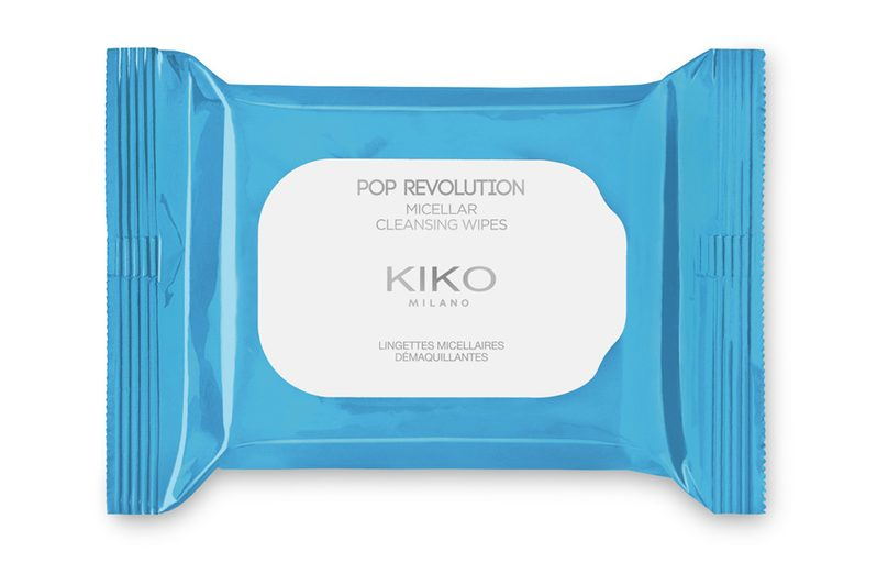 Kiko Pop Revolution - info review recensione prezzo swatch opinioni - Salviette struccanti micellar cleansing wipes