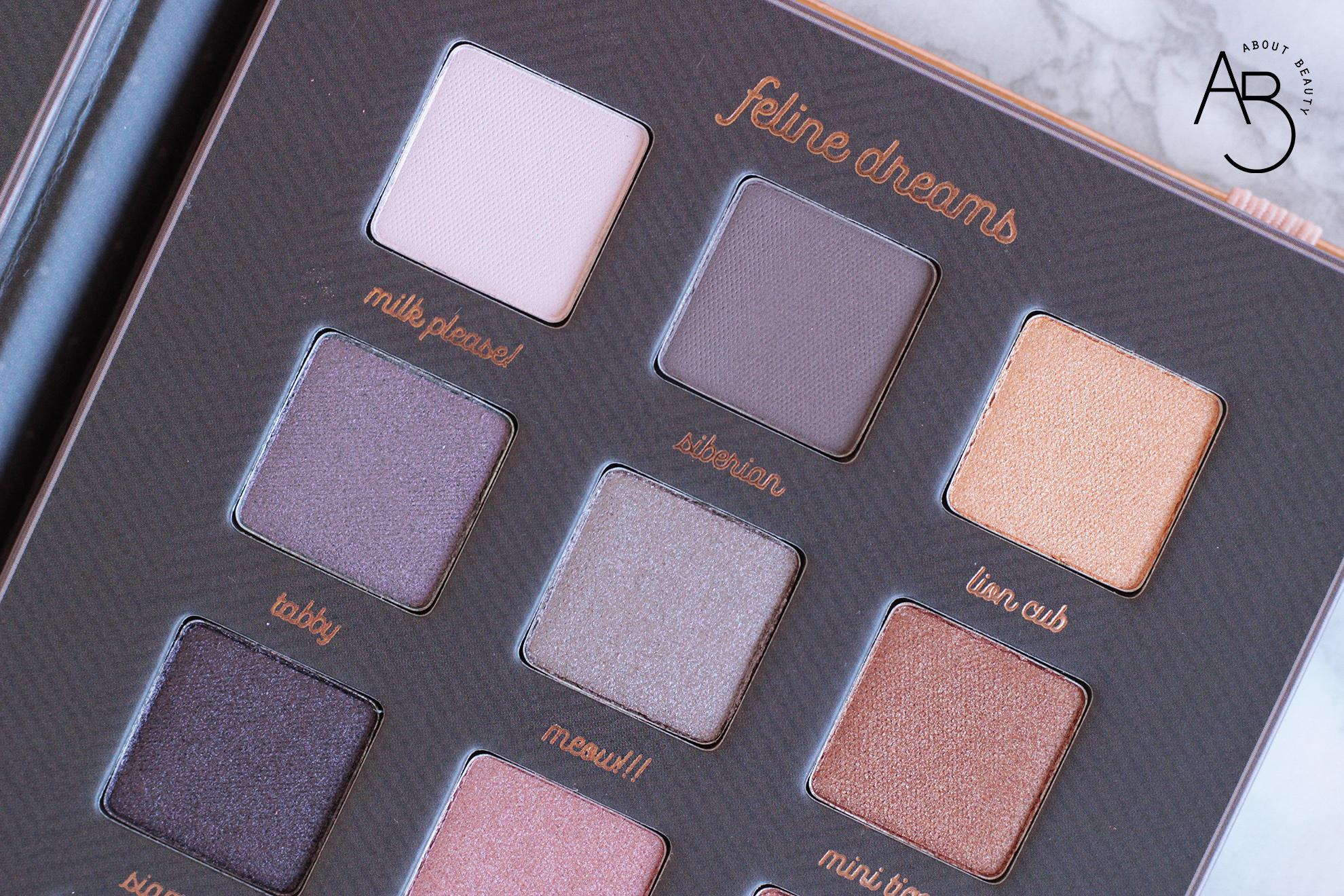 Neve Cosmetics Feline Dreams Palette ombretti - recensione info swatch prezzo codice sconto - About Beauty colori