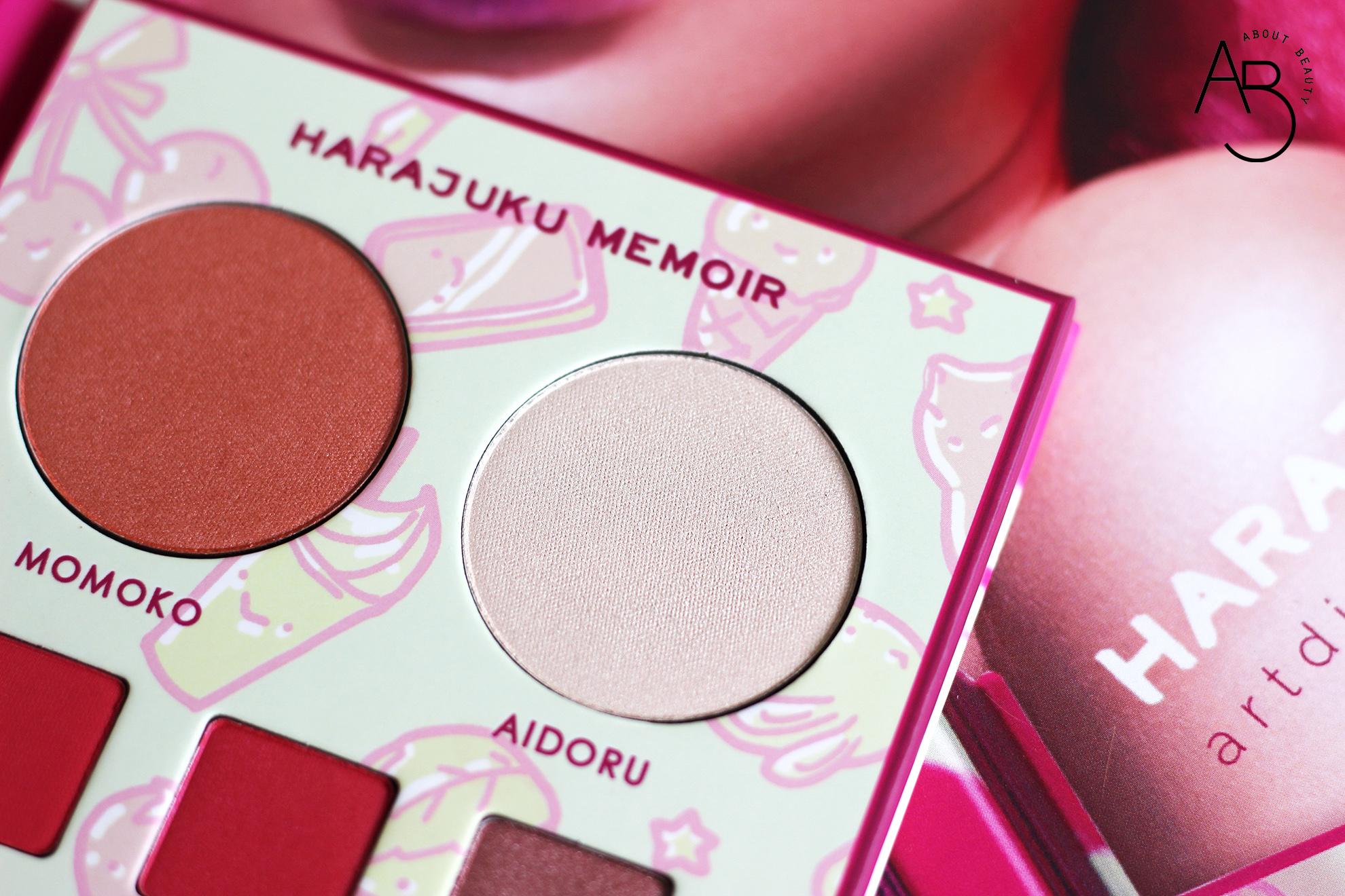 neve cosmetics harajuku memoir palette ombretti eyeshadow - info recensione swatch inci opinioni review tutorial codice sconto - aidoru