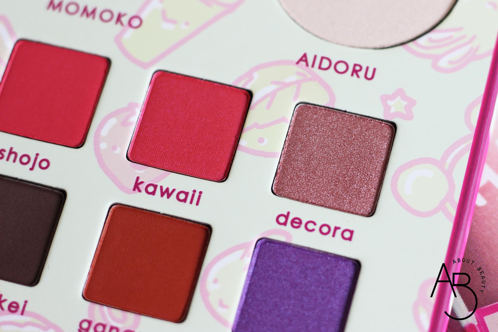 neve cosmetics harajuku memoir palette ombretti eyeshadow - info recensione swatch inci opinioni review tutorial codice sconto - decora