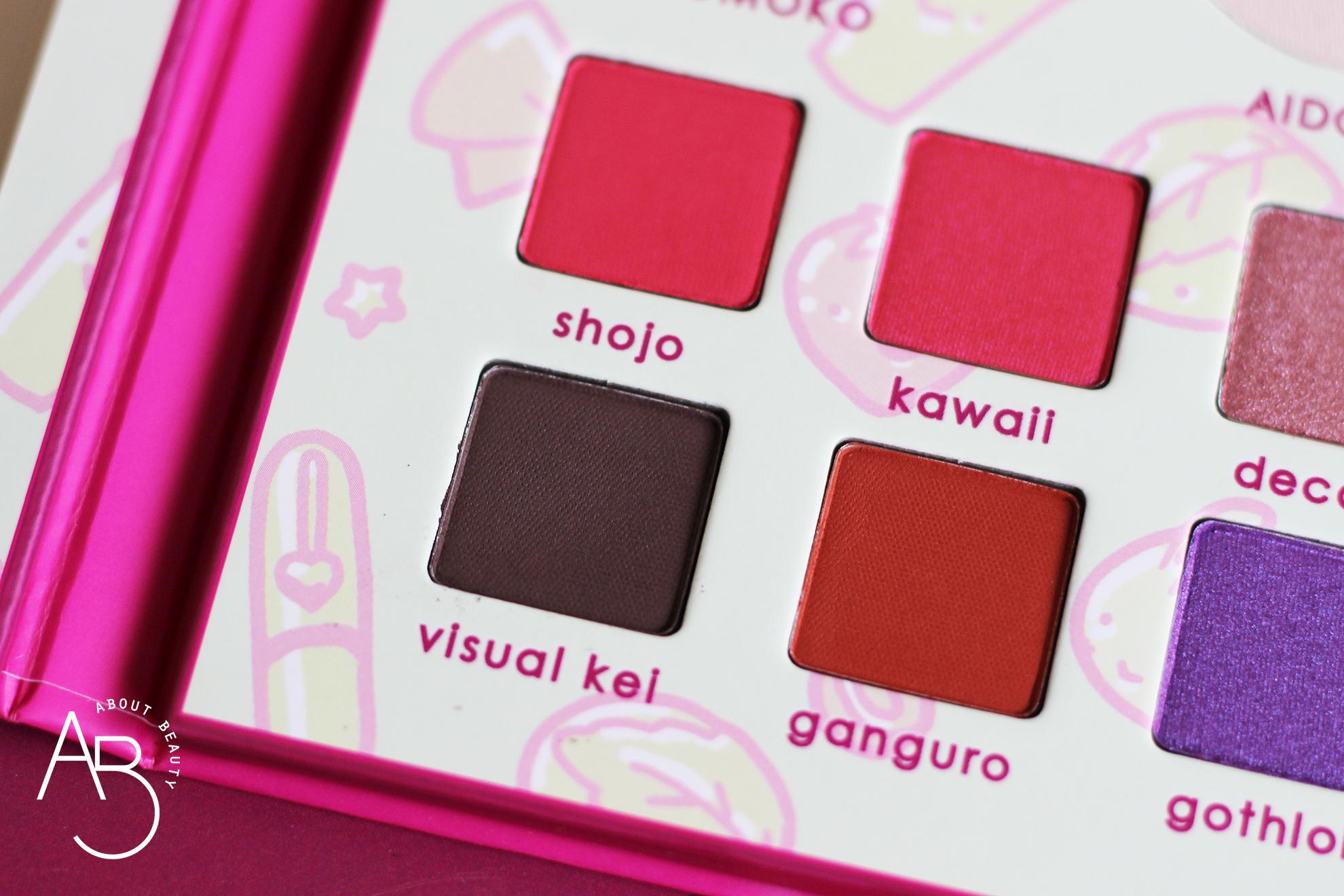 neve cosmetics harajuku memoir palette ombretti eyeshadow - info recensione swatch inci opinioni review tutorial codice sconto - visual kei