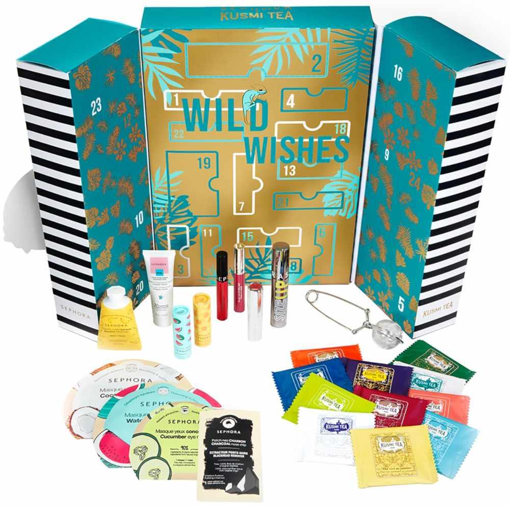 Migliori calendari avvento beauty 2020 low cost - Info prezzo dove acquistare contenuto - Sephora Wild Wishes