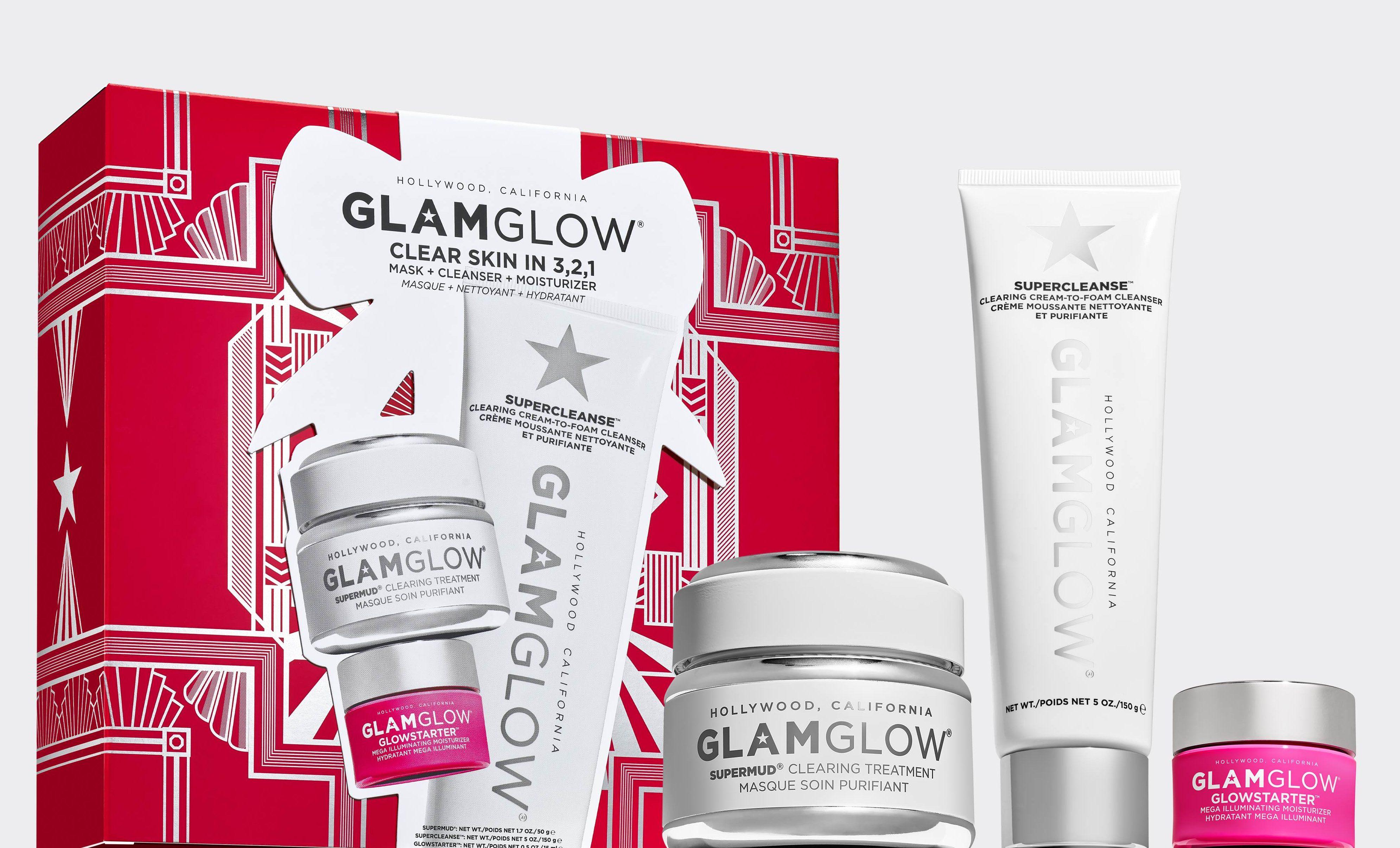 Glamglow Holiday Collection - Cofanetti regalo Natale 2020 - Info recensione prezzo dove acquistare - Clear Skin in 3 2 1