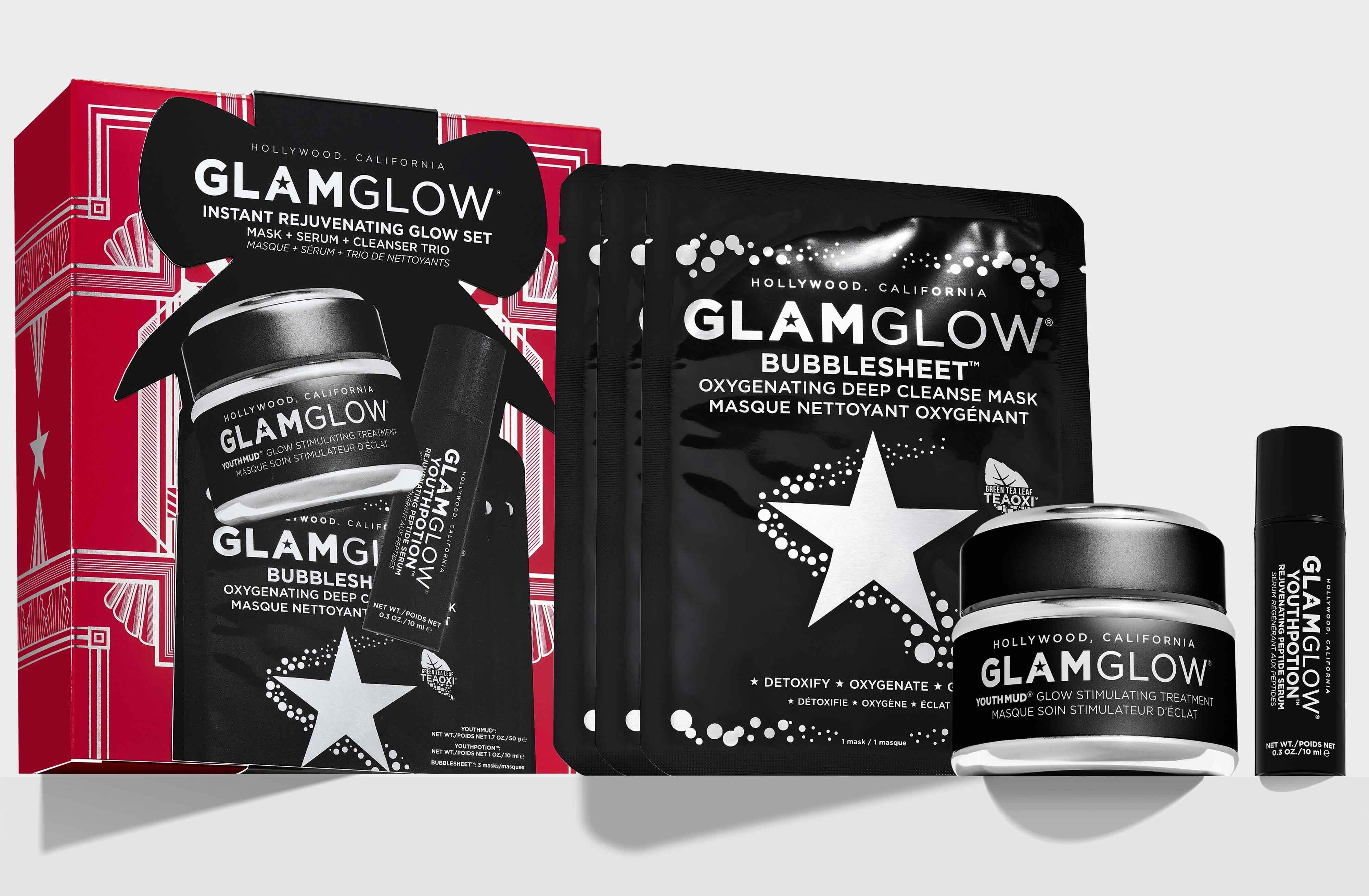 Glamglow Holiday Collection - Cofanetti regalo Natale 2020 - Info recensione prezzo dove acquistare - Instant Rejuvenating Glow Set